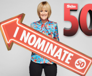 The Sun 50th Anniversary Charity Giveaway