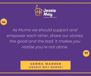 Mother's Day Quote from Jessie May nurse, Gemma