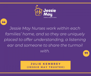 Mother's Day Quote from Jessie May Trustee, Julie