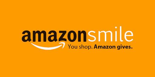AmazonSmile logo - You shop. Amazon gives.