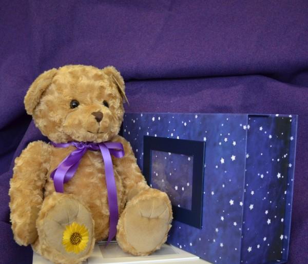 Bereavement support - memory bear and box