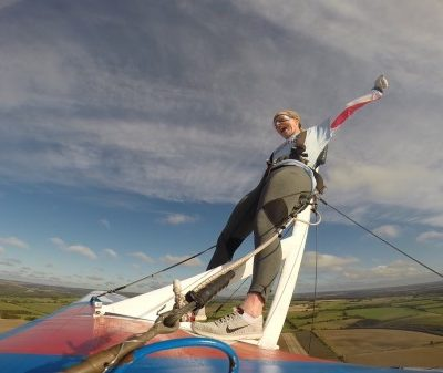 Wing walking for Jessie May