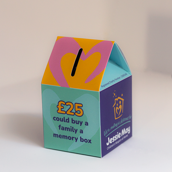 Jessie May House Collection Box
